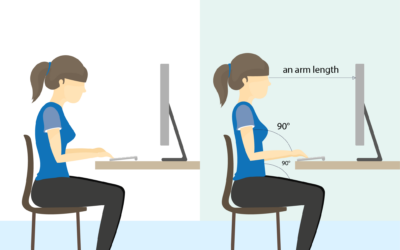 Working from Home: How to Sit at Your Desk Correctly